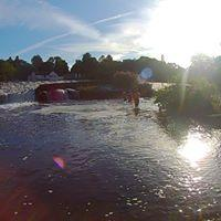 WATER TRAINING BELOW LLANDAFF WEIR