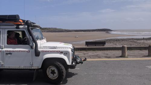 cavra landy on civil aid patrols Barry old harbour