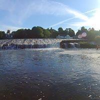 WATER TRAINING BELOW LLANDAFF WEIR