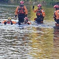 WATER TRAINING IN RIVER TAFF