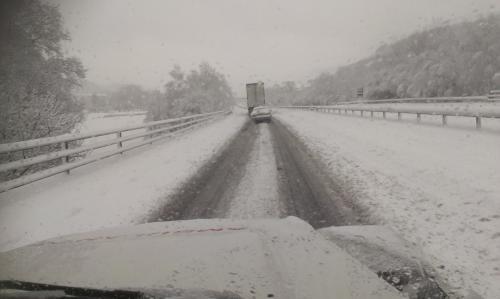 Snow at Ystrad Mynach Jan 13